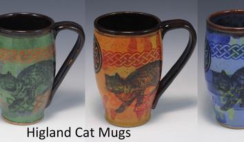 Highland Cat Modern Mug