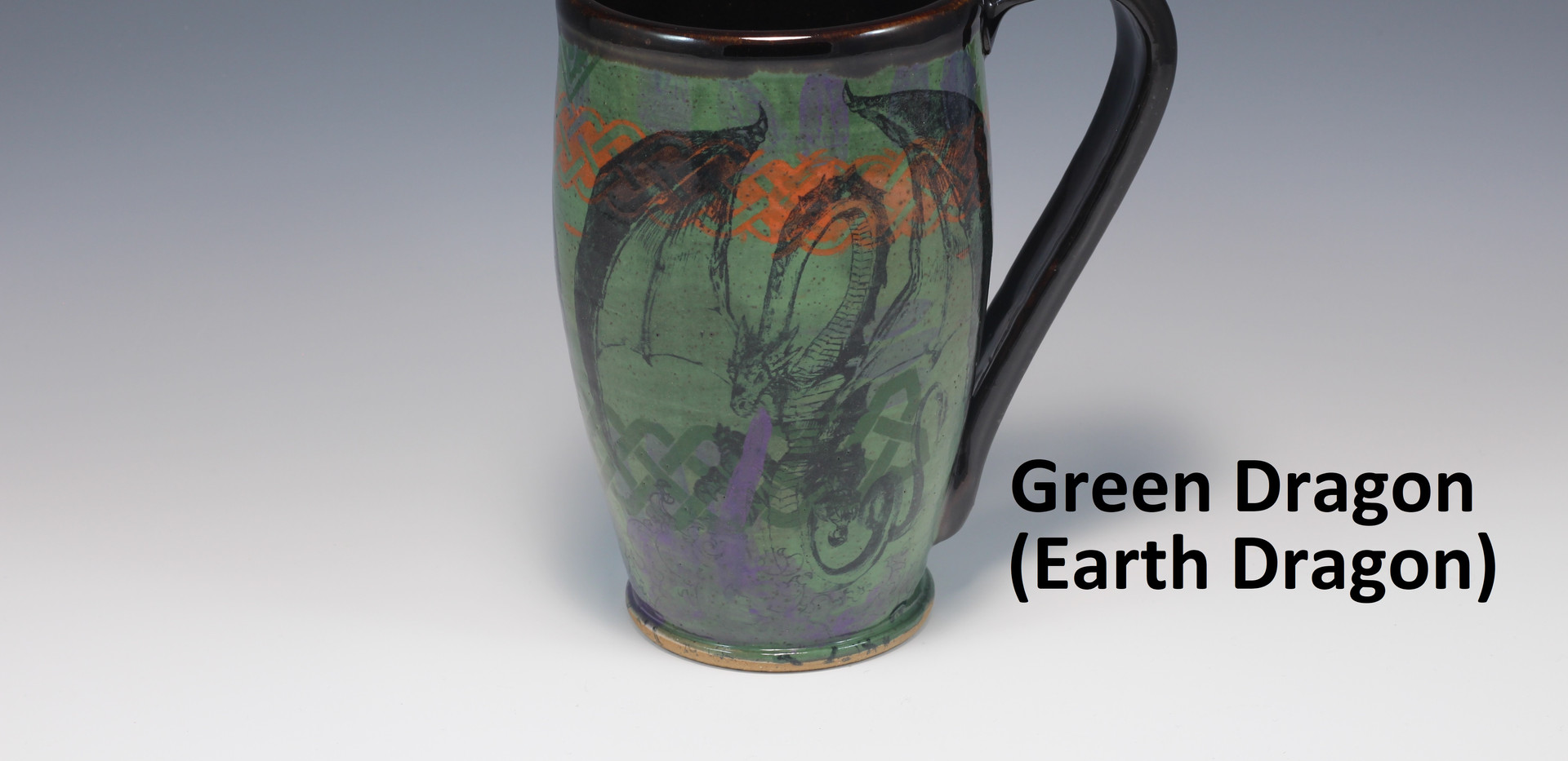 Earth Dragon Modern Mug