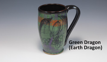 Earth Dragon Modern Mug