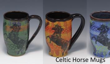 Celtic Horse Modern Mug