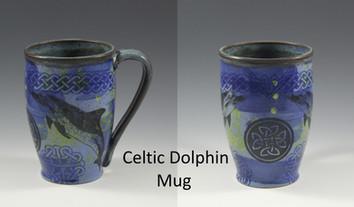 Celtic Dolphin Modern Mug