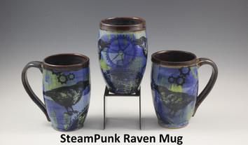 SteamPunk Raven Modern Mug