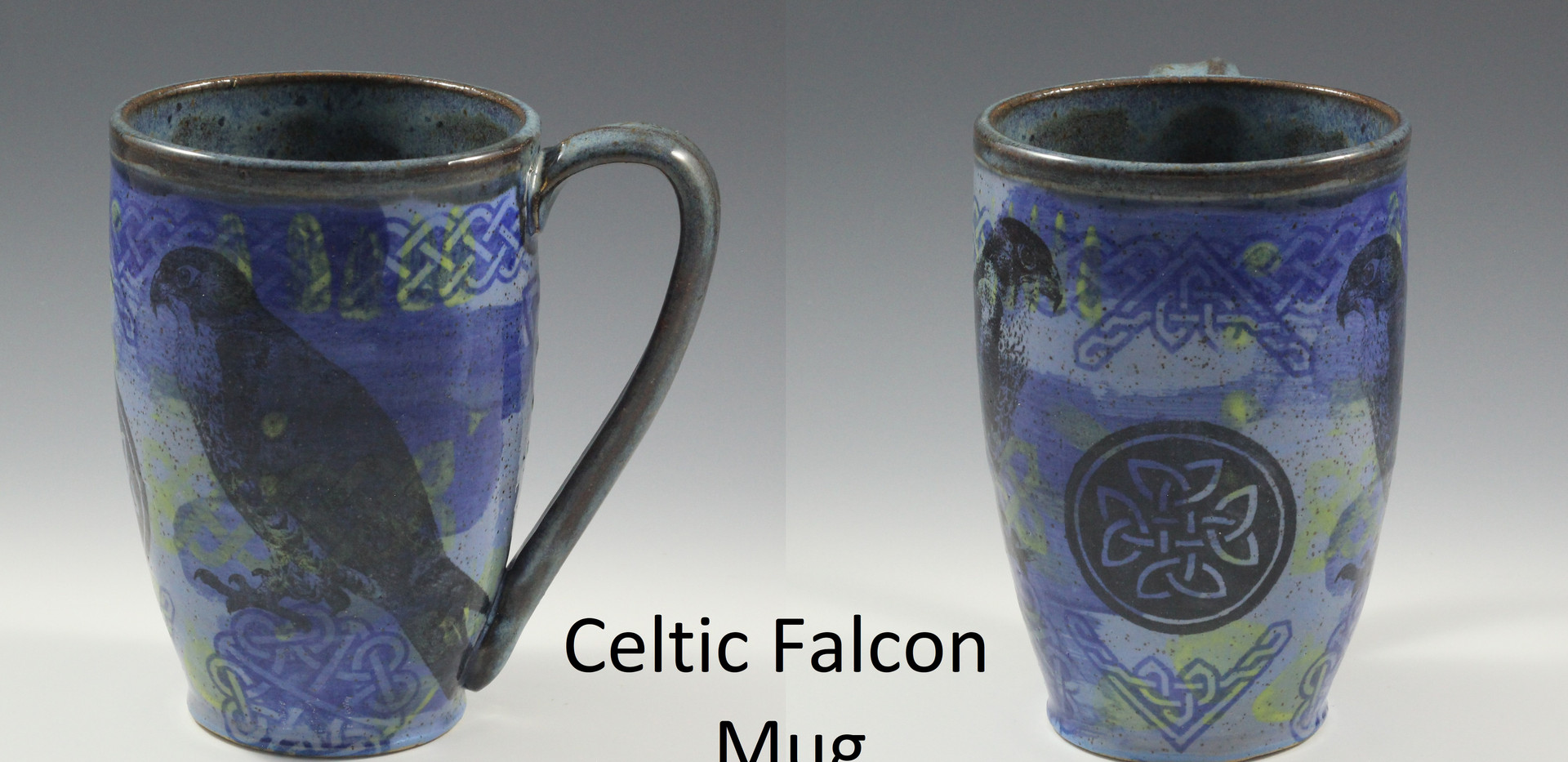 Celtic Falcon Modern Mug