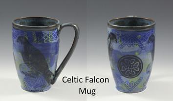Celtic Falcon Modern Mug
