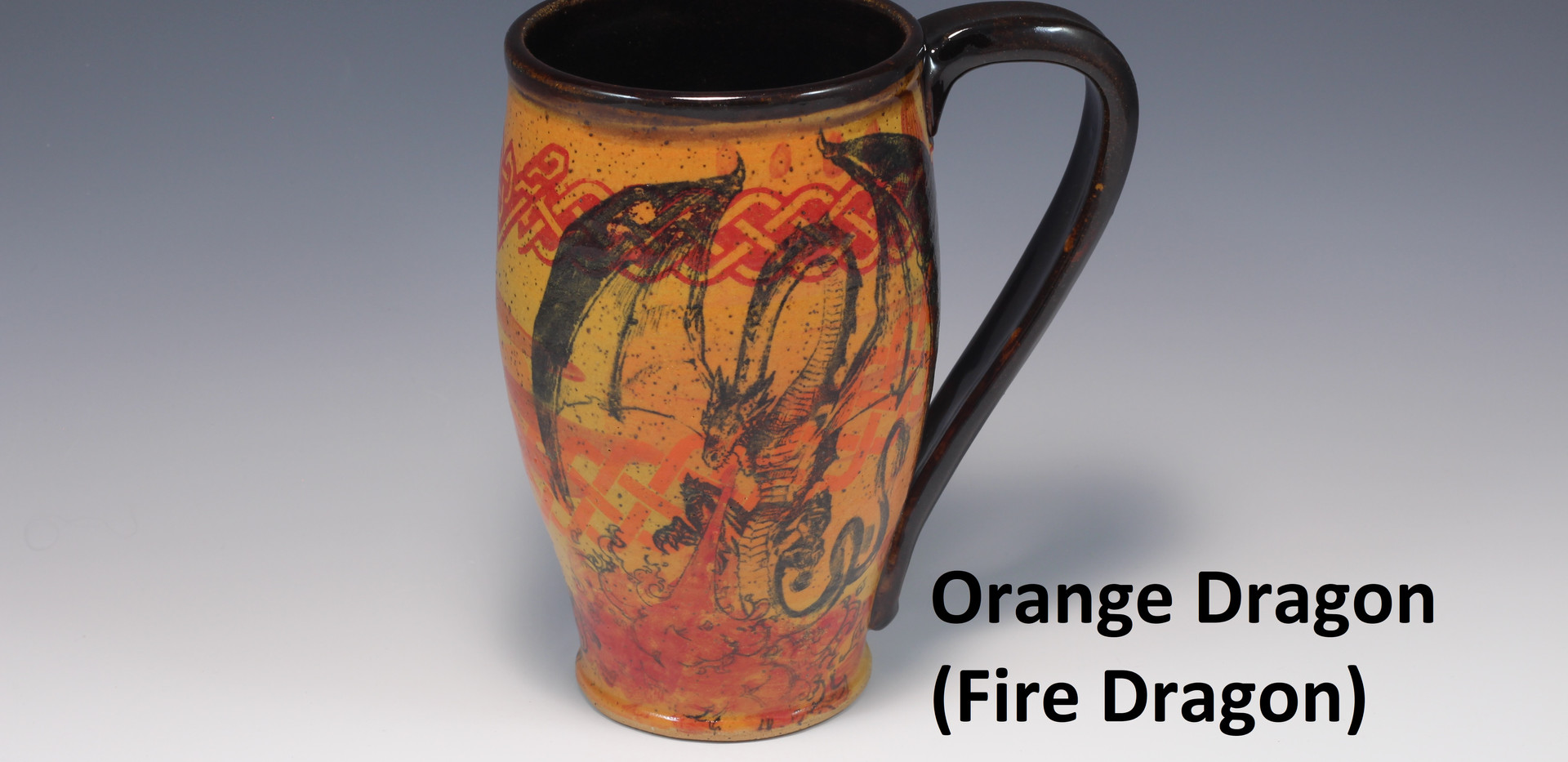 Fire Dragon Modern Mug