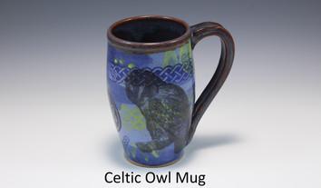 Celtic Owl Modern Mug
