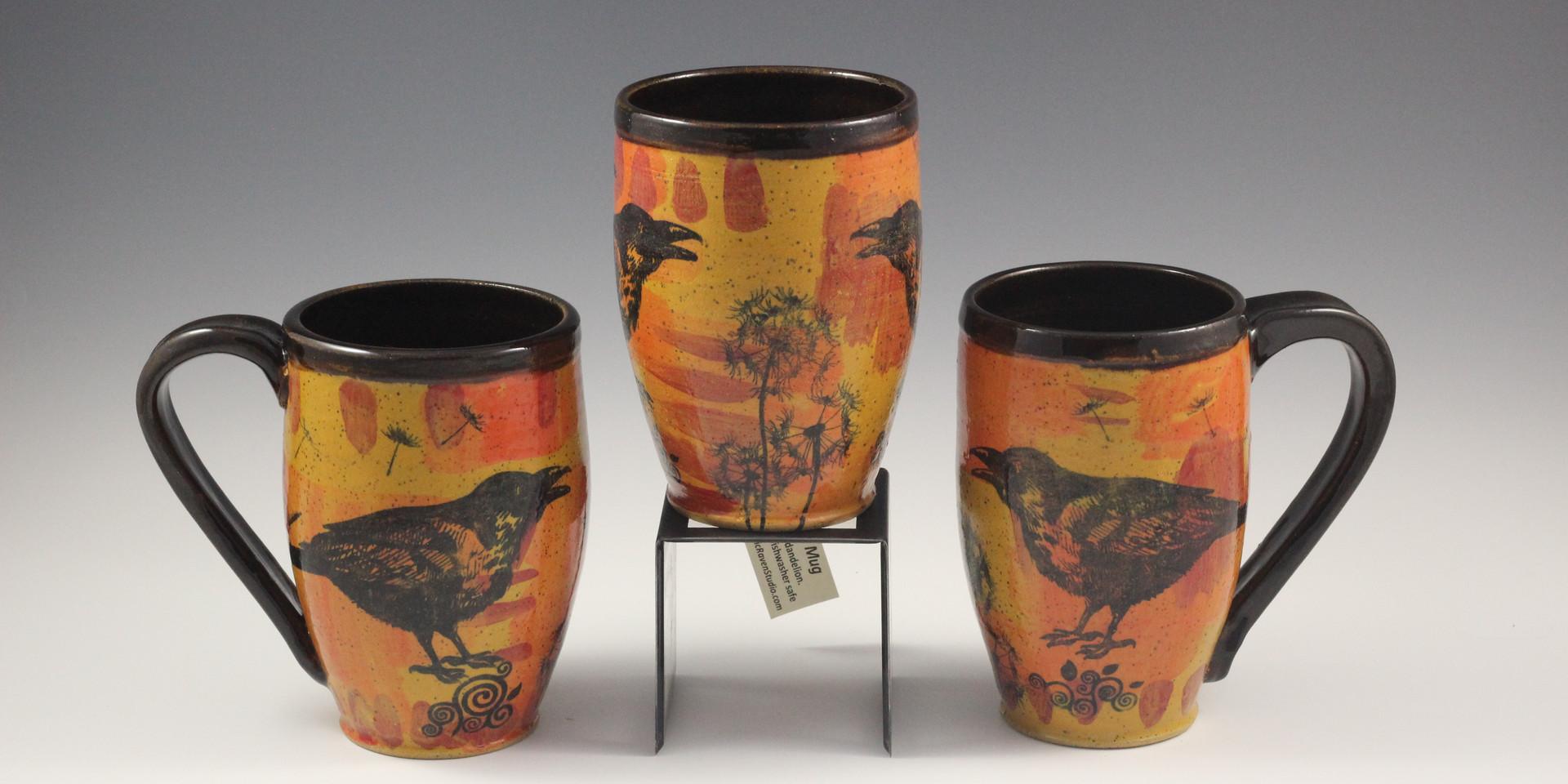 Desert Raven Mugs