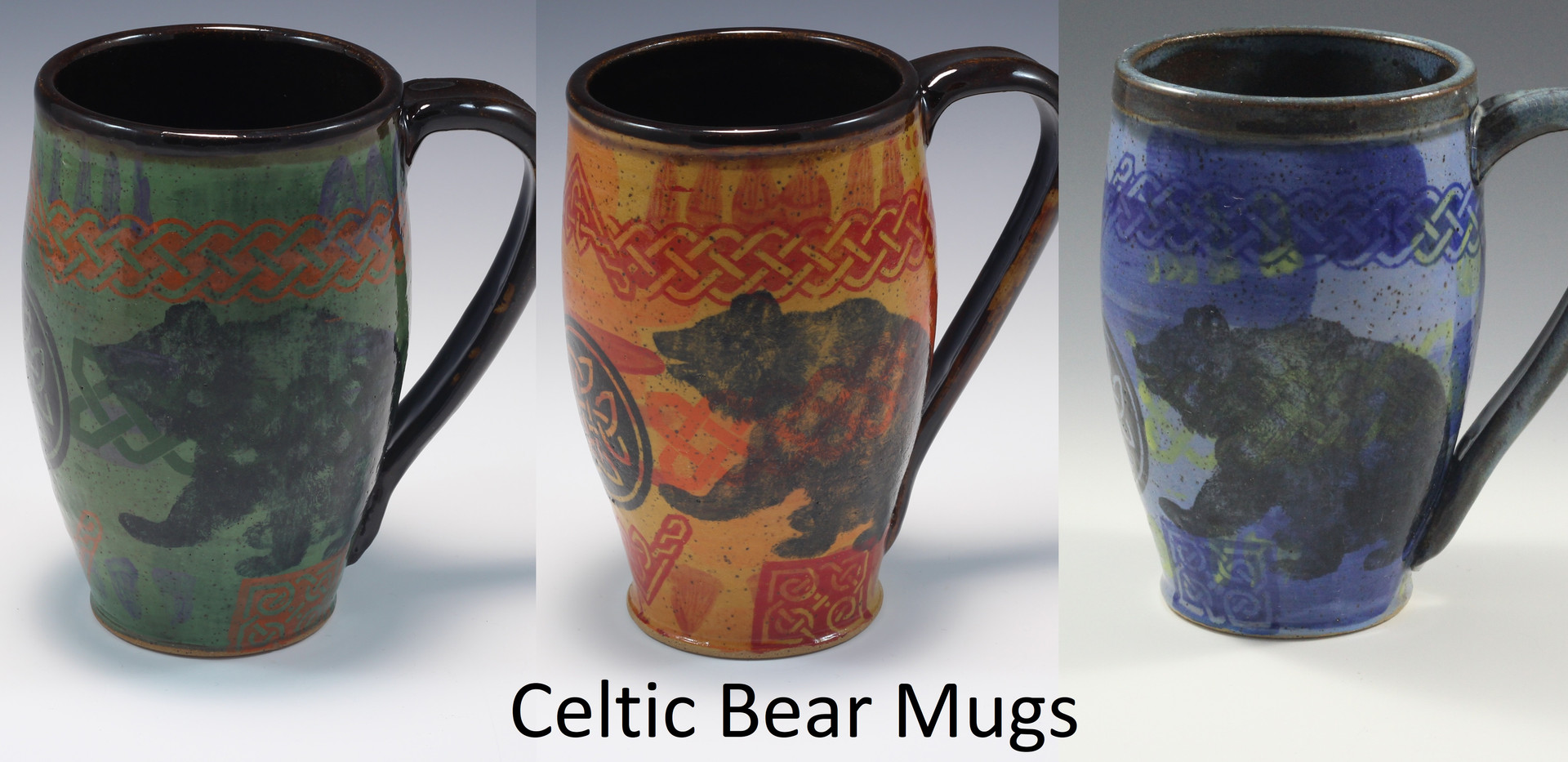 Celtic Bear Modern Mug
