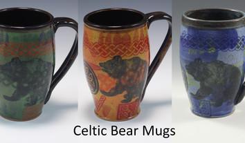 Celtic Bear Modern Mug