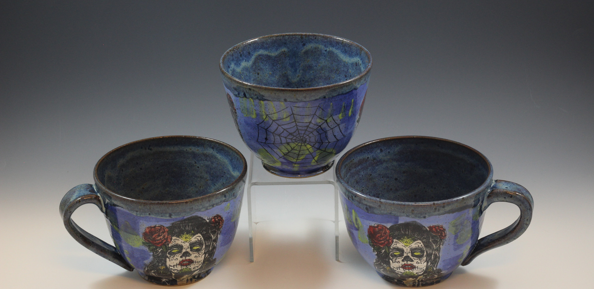 Day of the Dead Soup Mug