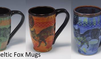 Celtic Fox Modern Mug