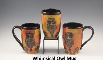 Whimsical Owl Modern Mug