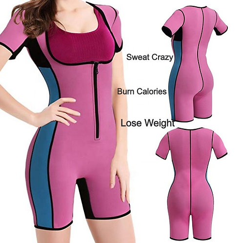 Body Suit Shaper Sport Sweat Neoprene Suit Waist Trainer