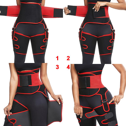 High Waist Thigh  Neoprene Sweat Shapewear