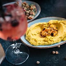 Mango-Curry Hummus