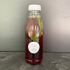 Granatapfel-Basilikum Limo