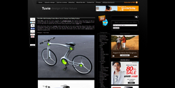 Flexi Bike With Rotating Frame Allows You to Change Your Riding Posture   Tuvie.