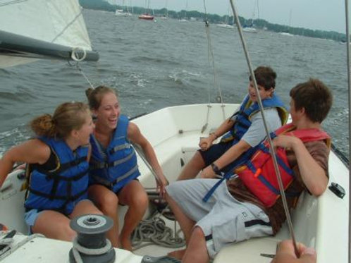 Sailing Camp Full Day Program
