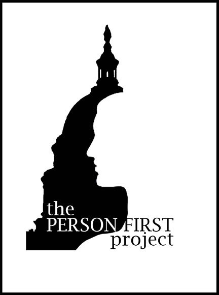 Logo for new Person First Project