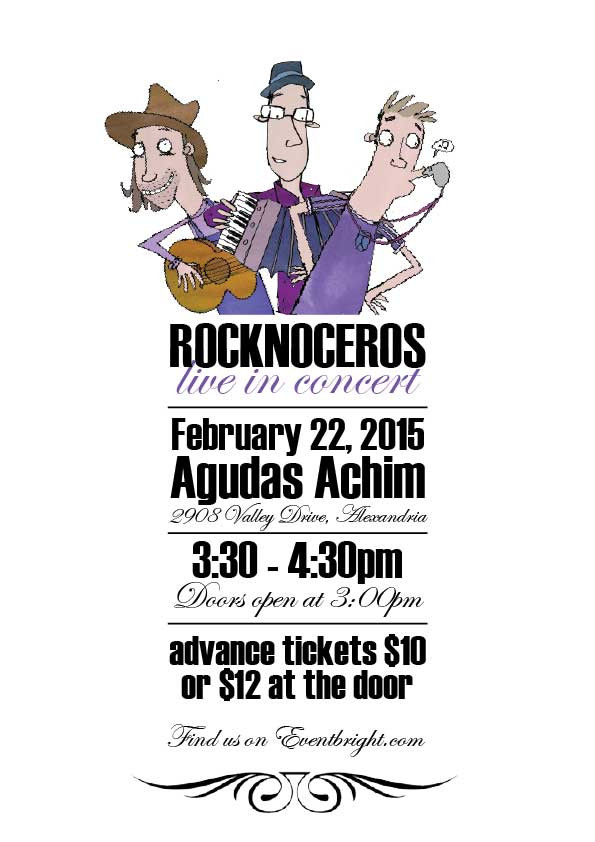 Hold on to your hats! Rocknoceros in Concert!