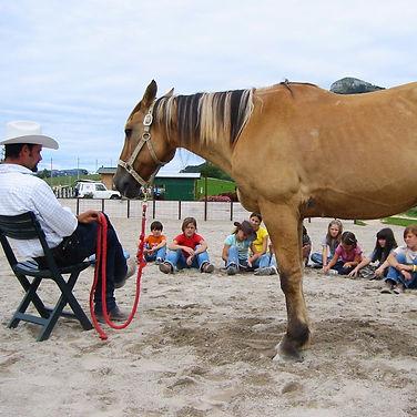 piccoli cowboy lezioni cavalli bambini lessinia fosse verona scuole schinchi