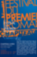 Arthur Yasmine, participation Festival du Premier Roman, 2015, actualité