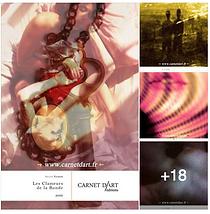 Affiches, Arthur Yasmine, Carnet d'Art, Les Clameurs de la Ronde, poésie,