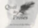 Entretien, Les Clameurs de la Ronde, Arthur Yasmine, Quai des Proses, Carnet d'art éditions, actualité 2015, poésie, acheter