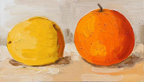 Lemon and Orange (Still Life 4)