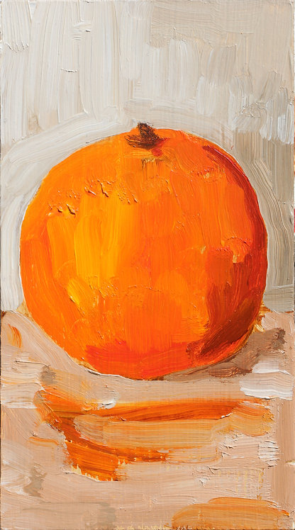 One Orange (Still Life 2)