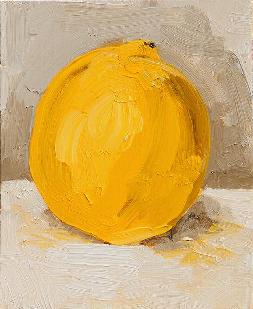 Lemon (Still Life 9)