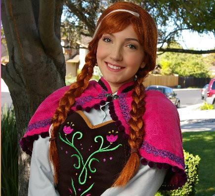 Frozen Winter Anna
