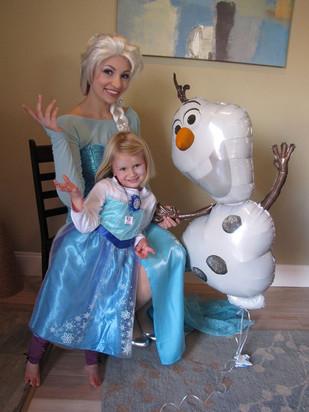 Elsa Birthday Party