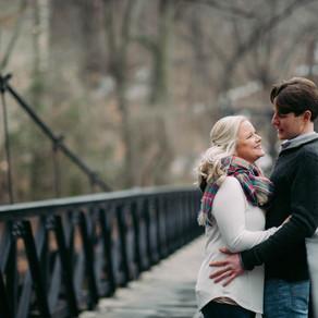 Rockford Park Engagement / Sarah & Brian / By Iryna