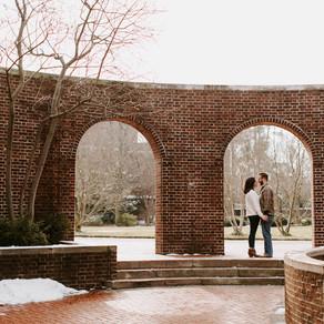 University of Delaware Engagement / Erin & Tyler / By Sarah