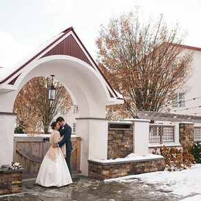 Normandy Farm Winter Wedding / Lynn & Carl / By Jami