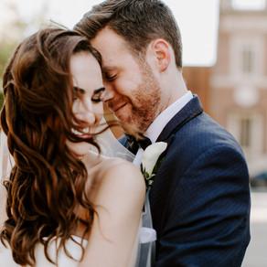 The Union Trust Wedding / Morgan & Phillip / By Sarah