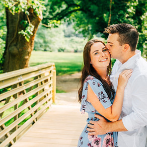 Pennypacker Park Engagement / Lindsey & Michael / By Alex