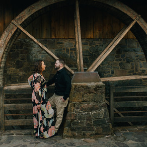 Peddler's Village Engagement / Melissa & Chris / By Alex