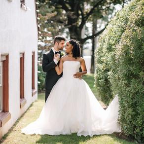 Normandy Farm Wedding / Erika & Stefen / By Iryna