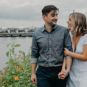 Riverton NJ Engagement / Amy & Jason / By Allie