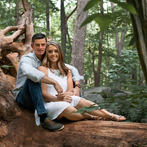 Ringing Rocks Engagement / Taylor & Joe / By Sarah