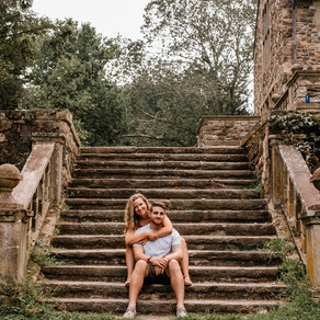 Hunting Hill Mansion Engagement / Erin & Rocco / By Joe