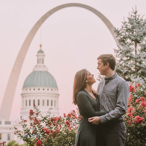 St Louis Missouri Engagement / Jenny & Garrett / By Jami