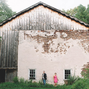 Rustic House Engagement / Christa & Jeff / By Joe