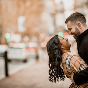 Philadelphia Engagement / Serena & Jake / By Jared