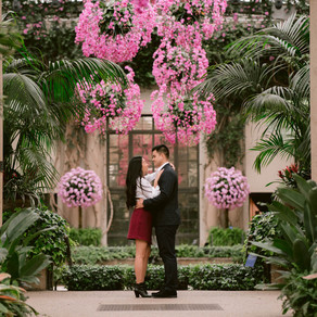 Longwood Gardens / Brittany & Phong / By Iryna
