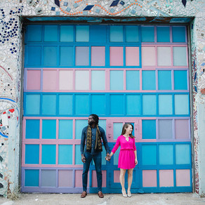 South Philly Engagement / Horatio & Molly / By Anthony