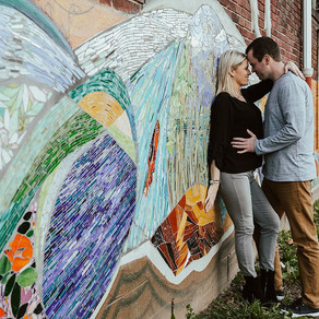 Manayunk Engagement / Ashley & Chad / By Allie