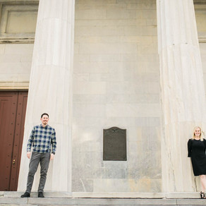 Downtown Philadelphia Engagement / Jessica & Philip / By Anthony